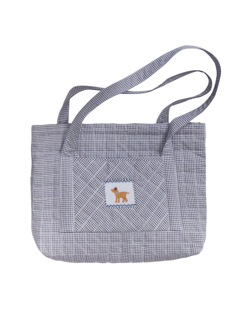 Little English Quilted Tote - Dog