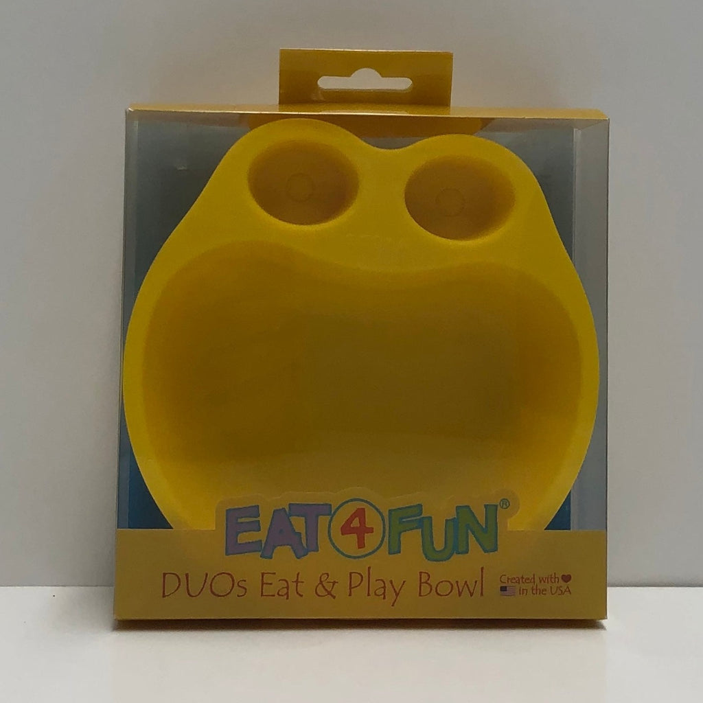 Eat4Fun Yellow Bowl