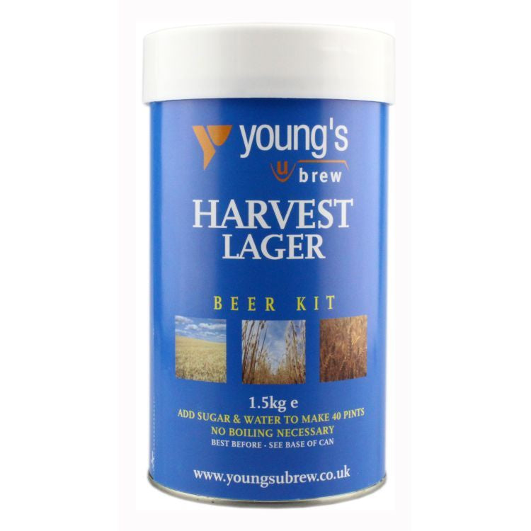 Young's Harvest Lager Kit | 40 pint