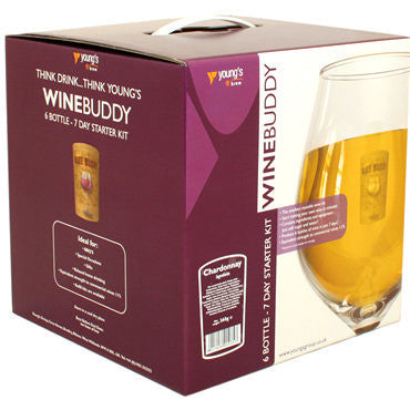 WineBuddy Starter Kit - (6 Bottle) Chardonnay