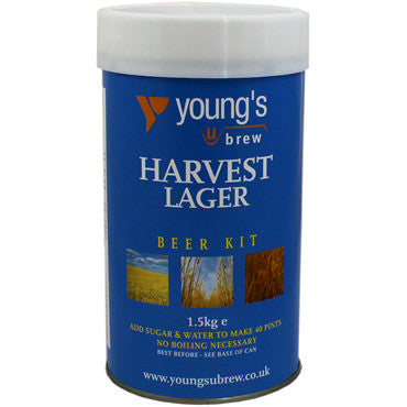 Young's Harvest Lager Beer Kit - 40 pt.
