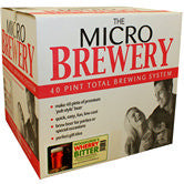 The Micro Brewery - Complete 40 pint Home Brewing System - Pale, Amber or IPA