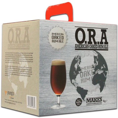 American Oaked Rum Ale [O.R.A.] - 40 pt. (4 kg premium kit)