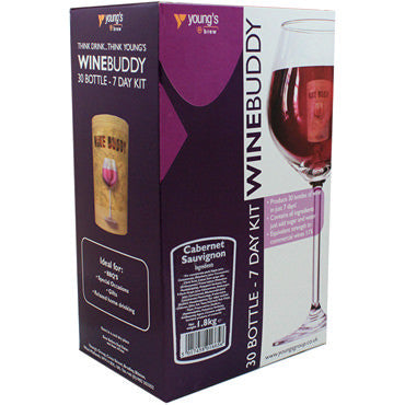 Winebuddy (30 bottle) cabernet sauvignon