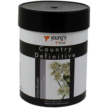 Young's Definitive Country (6 bottle) elderflower