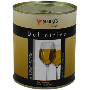 Young's Definitive Grape Juice 900 g - White