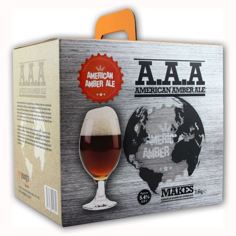 American Amber Ale Beer Kit 'A.A.A' | 40 pints | 5.4%