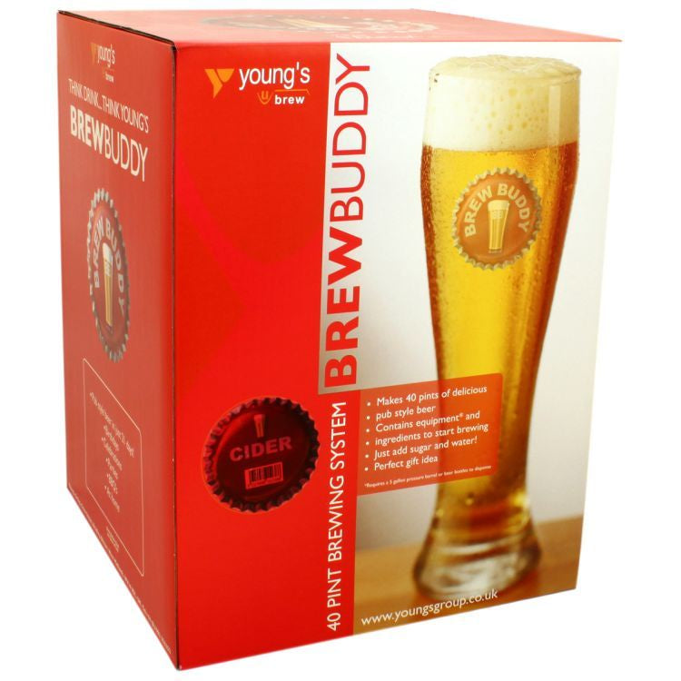 BrewBuddy Starter Kit Cider 40pt