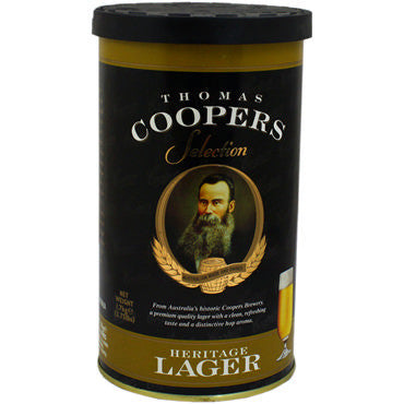 Thomas Coopers Heritage Lager Kit - 40 pt.
