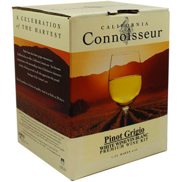 California Connoisseur (6 Bottle) Pinot Grigio