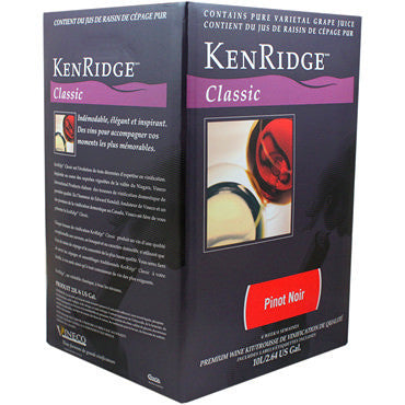 Kenridge Classic 30 bottle (10 L Concentrate) Pinot Noir