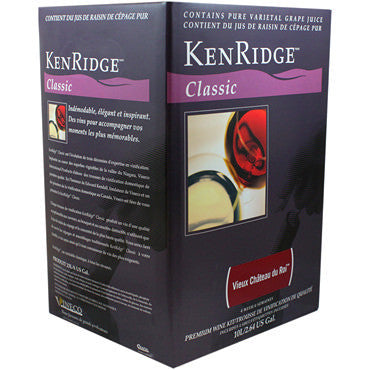 Kenridge Classic 30 bottle (10 L Concentrate) Vieux Chateau du Roi