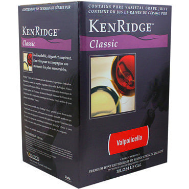 Kenridge Classic 30 bottle (10 L Concentrate) Valpolicella