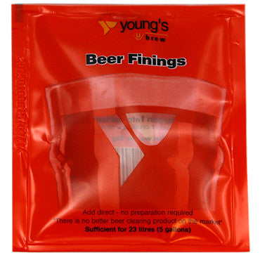 Young's beer finings (treats 23 litres)