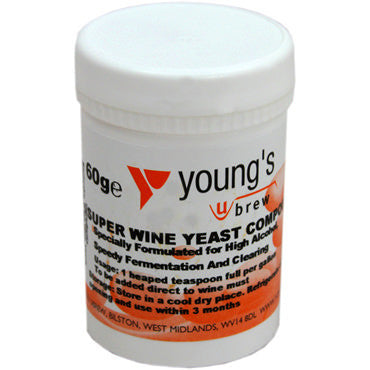 Young's Super Wine Yeast Compound (60 g)