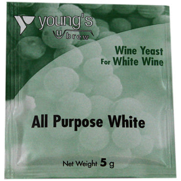 Young's Wine Yeast - all purpose white