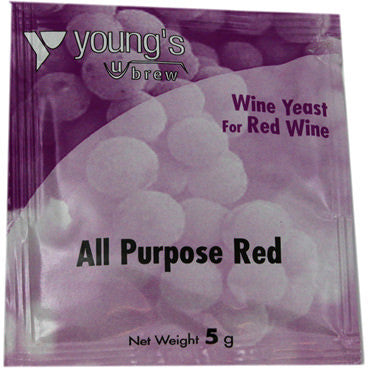 Young's Wine Yeast - all purpose red