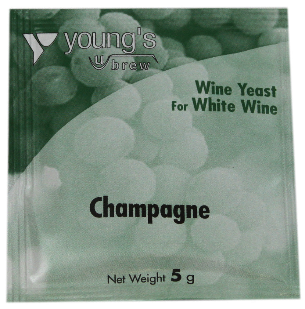 Young's Wine Yeast - Sparkling White Wine (Champagne) Yeast