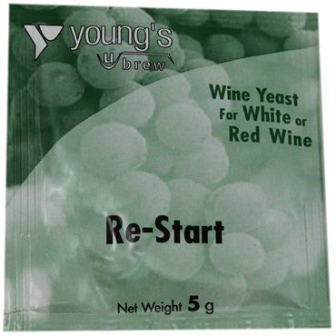 Young's Wine Yeast - restart
