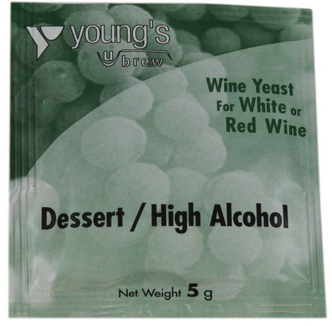 Young's Wine Yeast - Dessert / High Alcohol