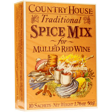 Country House Mulled Red Wine Spice