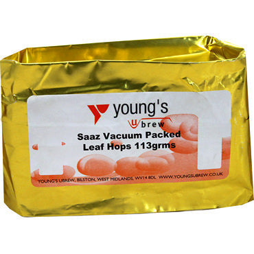 Saaz Leaf Hops (Vacuum Packed) 100-113g