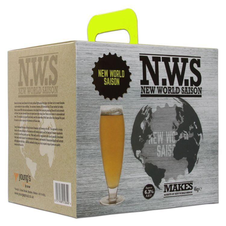 New World Belgian Saison Beer Kit 'N.W.S' | 40 pint | 6.3%