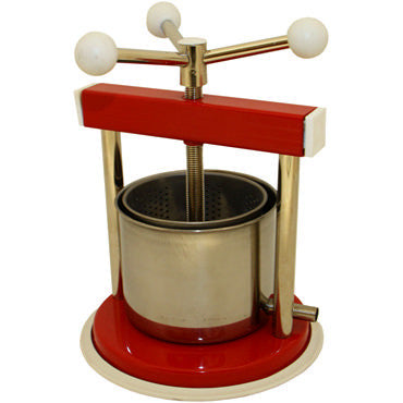 Aluminium And Painted Metal Fruit Press - 1.3 L