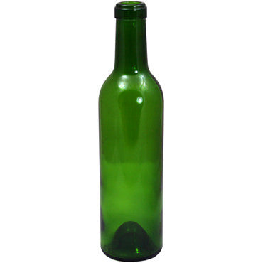 15 x Green Glass Wine Bottles