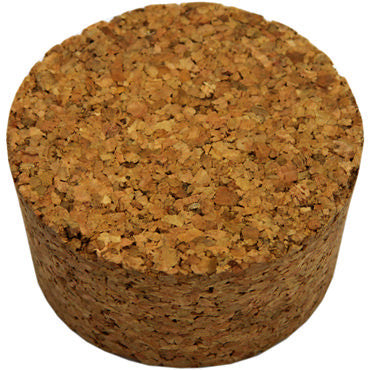 Number 7 Cork Bung: 2.000 x 2.250