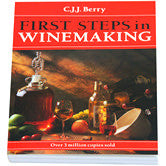 First Steps In Winemaking by C.J.J. Berry - book