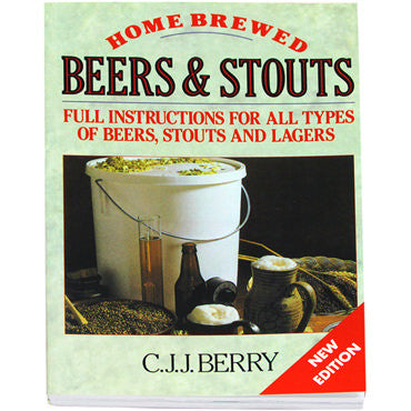Home Brewed Beer And Stouts by C.J.J. Berry - book