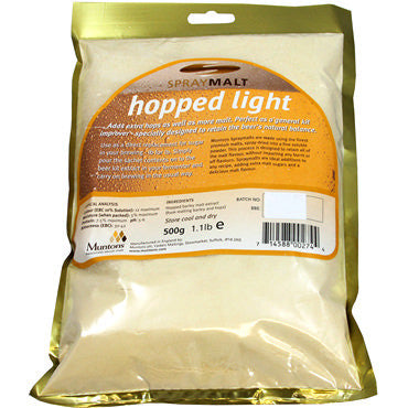 Muntons Spraymalt 500 g - Hopped Light