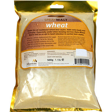 Muntons Spraymalt 500 g - Wheat