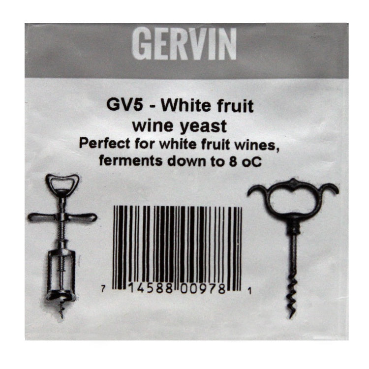 Gervin - GV5 - White Fruit Yeast