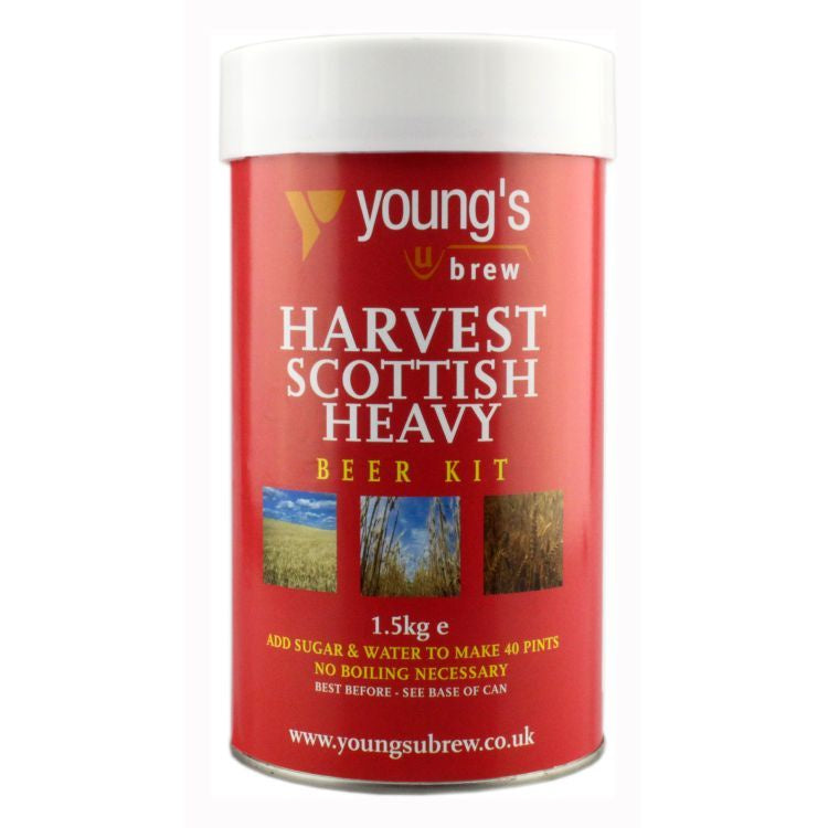 Young's Harvest Scottish Heavy Ale Kit | 40 pint