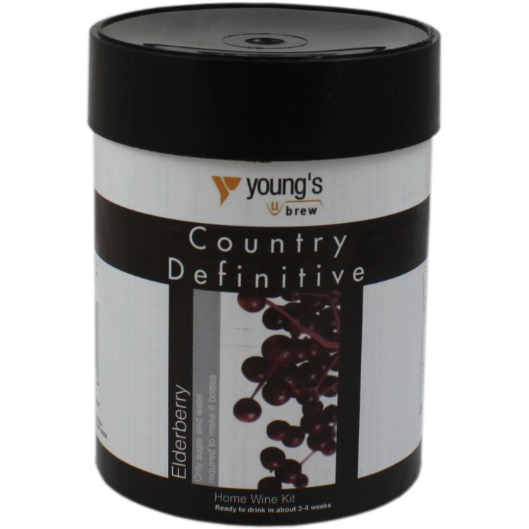 Young's Definitive Country Elderberry 6 bottle