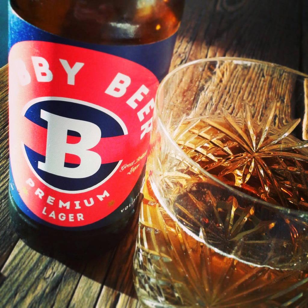 Bobby Beer 330ml (Bobby Beer) - 4.8% Hand-Crafted Premium Lager