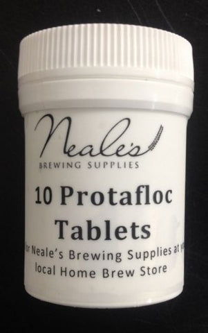 10 Protafloc Irish Moss / Copper Fining Tablets