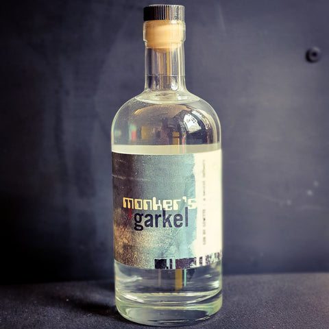 Monker's Garkel - The World's First Gin Created by AI | 40% | 50cl Bottle