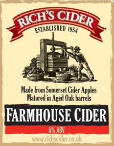 Rich's Farmhouse Cider | Bag-in-Box | 6%