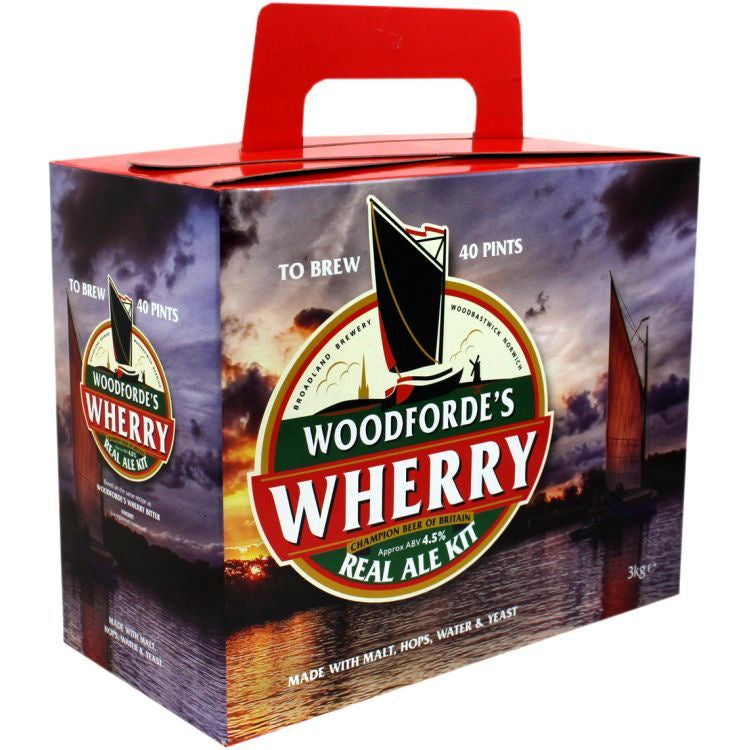 Woodfordes Wherry Bitter 3kg (40pt)