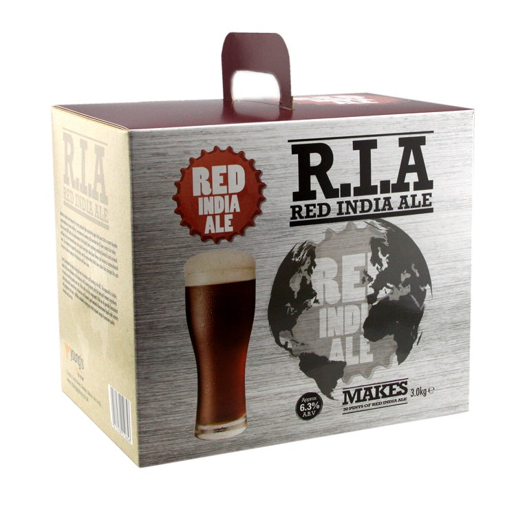 Hoppy Red Ale / Red India Ale Beer Kit 'R.I.A' | 30 pint | 6.3%