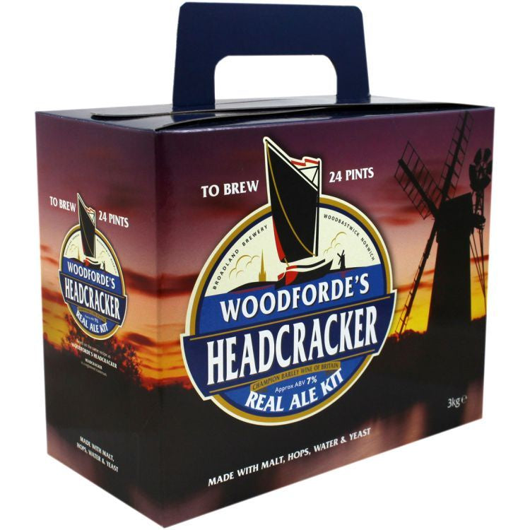 Woodfordes Headcracker 'Light Barley Wine' 3kg (24pt)