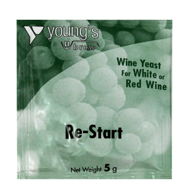 Young's Re-Start Wine Yeast Sachet 5g