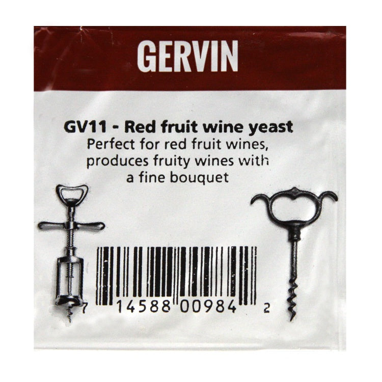 Gervin - GV11 - Red Fruit Yeast