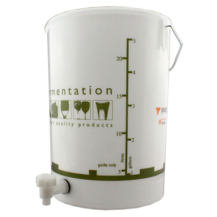 25 Litre Fermentation Bucket with Tap