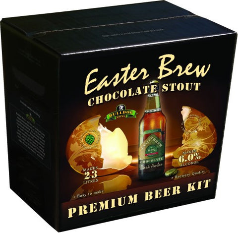 Bulldog Brews 'Easter Brew' Chocolate Stout 4.2kg - 40 pints (6%)
