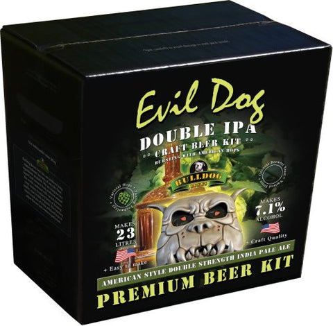 Bulldog Brews Evil Dog American Double IPA 4.7kg - 40 pints (7.1%)