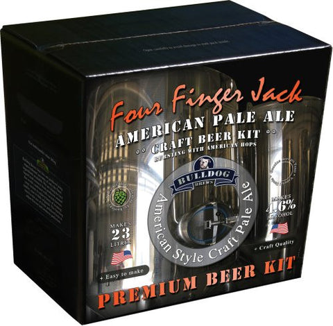 Bulldog Brews Four Finger Jack American Pale Ale 3.6kg - 40 pints (4.6%)